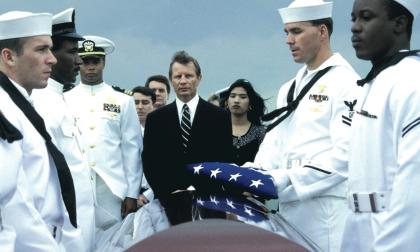 Michael York in Goodbye America